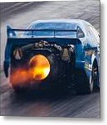 Fireforce Jet Funny Car Metal Print