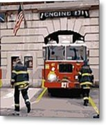 Firehouse Color 16 Metal Print