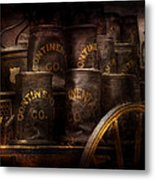 Fireman - Bucket Brigade  Metal Print