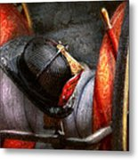 Fireman - Hat - South Plainfield Fire Dept Metal Print