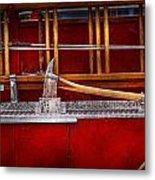Fireman - Nice Axe  Metal Print