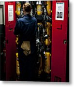 Fireman Stows A Self-contained Metal Print