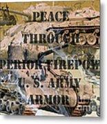 Firepower  Metal Print