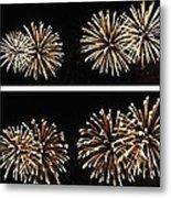 Firework Lifecycle 1 Metal Print
