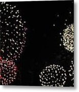 Firework Lifecycle 3 Metal Print