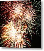 Fireworks 1569 Metal Print by Michael Peychich