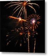Fireworks 1580 Metal Print by Michael Peychich