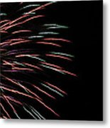 Fireworks Abstract 1 Metal Print