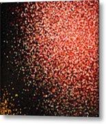 Fireworks Abstract  Metal Print