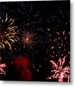 Fireworks At Oshkosh Airventure 2012. 01 Metal Print