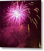 Fireworks IIi Metal Print