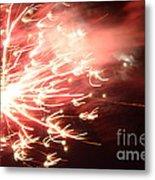 Fireworks In Texas 2 Metal Print