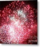 Fireworks Number 7 Metal Print