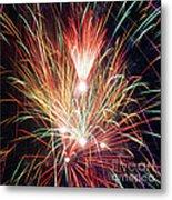 Fireworks One Metal Print
