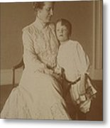 First Lady Edith Roosevelt Metal Print