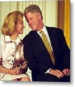First Lady Hillary Clinton Metal Print by Everett