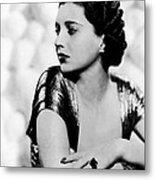First Lady, Kay Francis, 1937 Metal Print