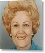 First Lady Patricia Nixon 1912-1993 Metal Print
