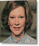 First Lady Rosalynn Carter Metal Print by Everett