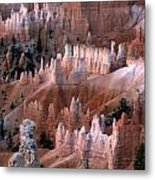 First Light In Bryce Canyon Metal Print