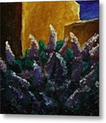 First Light On Lilac Metal Print