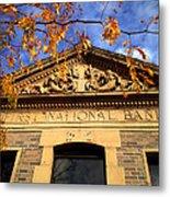 First National Bank Metal Print