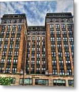 First Niagara Building With Takis Metal Print