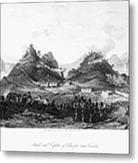 First Opium War, 1841 Metal Print