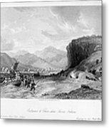 First Opium War, C1841 Metal Print