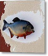 Fish Mount Set 12 C Metal Print