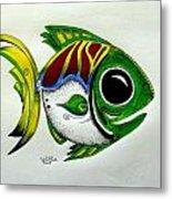 Fish Study 2 Metal Print