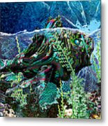 Fish Trouble Metal Print
