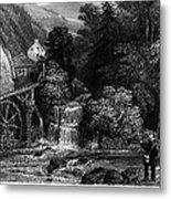 Fishermen, 19th Century Metal Print by Granger