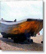 Fishing Boat - Brighton Beach Metal Print