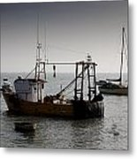 Fishing Boat Essex Metal Print