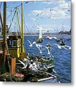 Fishing Boat Metal Print by The Irish Image Collection