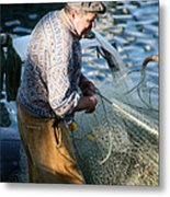 Fishing Days Metal Print