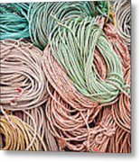 Fishing Lines Metal Print