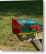 Fishing Lure Mailbox 1 Metal Print