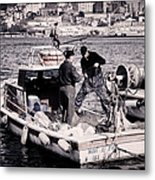 Fishing On The Golden Horn Metal Print