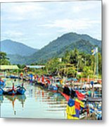 Fishing Village3 Metal Print