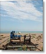 Fishing Winches Metal Print