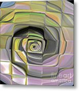 Fit Into The Box Metal Print by Deborah Benoit