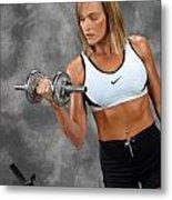 Fitness 5 Metal Print