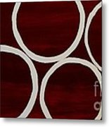 Five Circles Metal Print