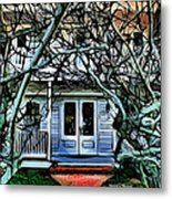 Five Gables Inn Of St Michaels Metal Print
