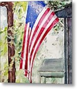 Flag Day Metal Print by Regina Ammerman