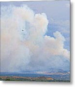 Flagstaff Fire Day One 6pm Metal Print