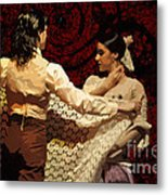 Flamenco Series No 3 Metal Print