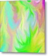 Flames Metal Print by Rosana Ortiz